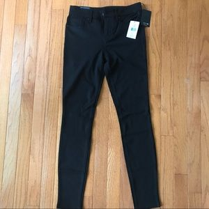Joe's Jeans black, skinny ankle Ponte Pants-25 NWT